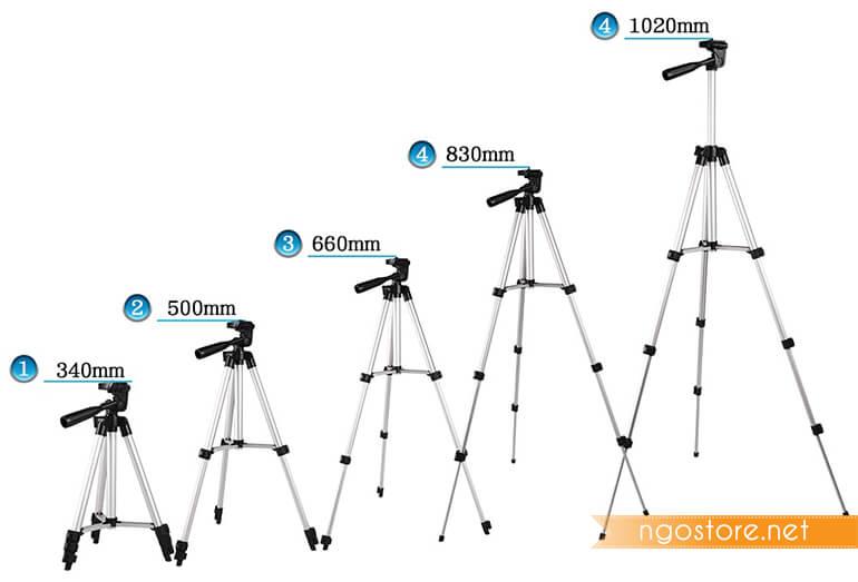 chân máy ảnh tripod 3110