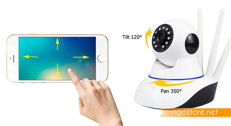 điều khiển camera yoosee 360