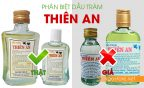 phân biệt dầu tràm thiên an