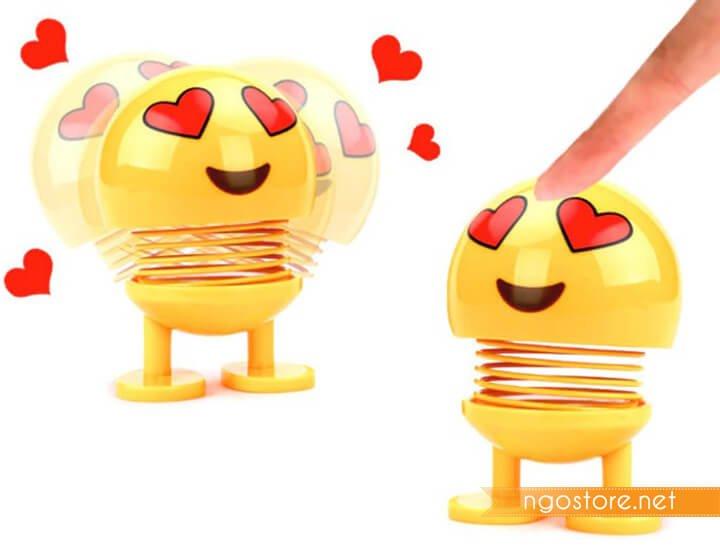 emoji lò xo mặt cười