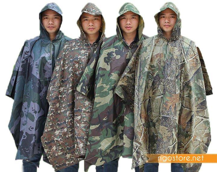 áo mưa cánh dơi quân đội