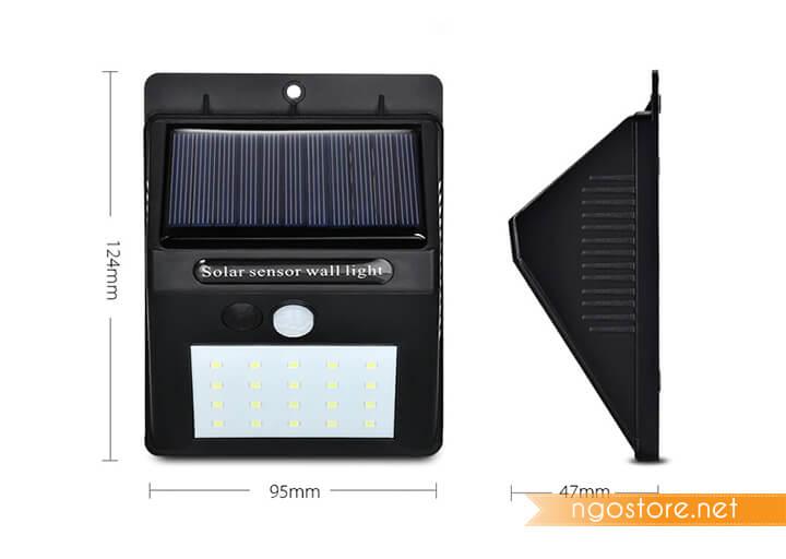 đèn led cảm ứng năng lượng mặt trời