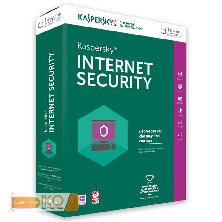 diệt virus kaspersky internet security
