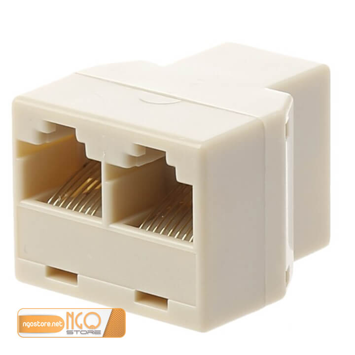 đầu chia rj45 1 ra 2