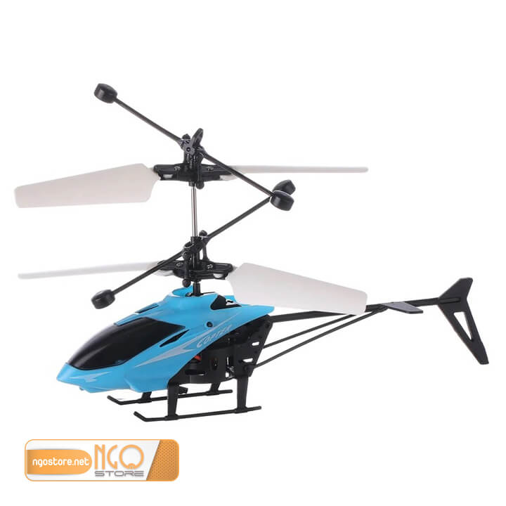 máy bay trực thăng cảm ứng bằng tay