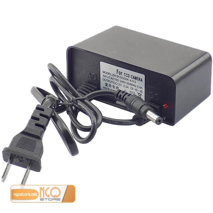 nguồn adapter 12v 2a cho camera