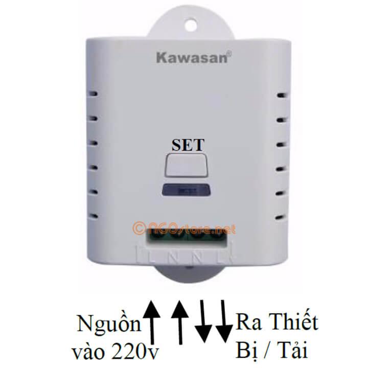 công tắc điều khiển từ xa kawasan rf01b-rm2
