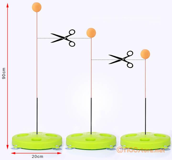 bóng bàn phản xạ