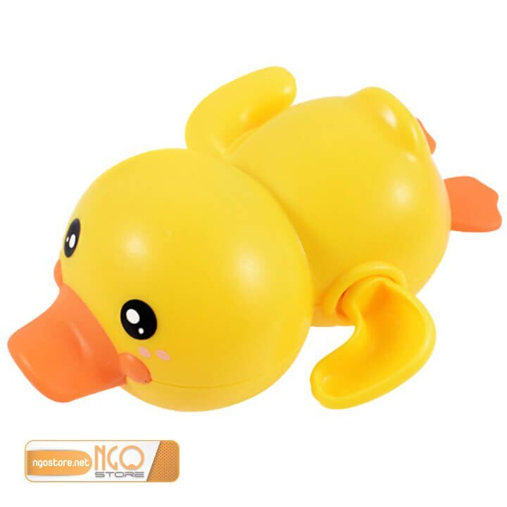 đồ chơi vịt bơi lên dây cót